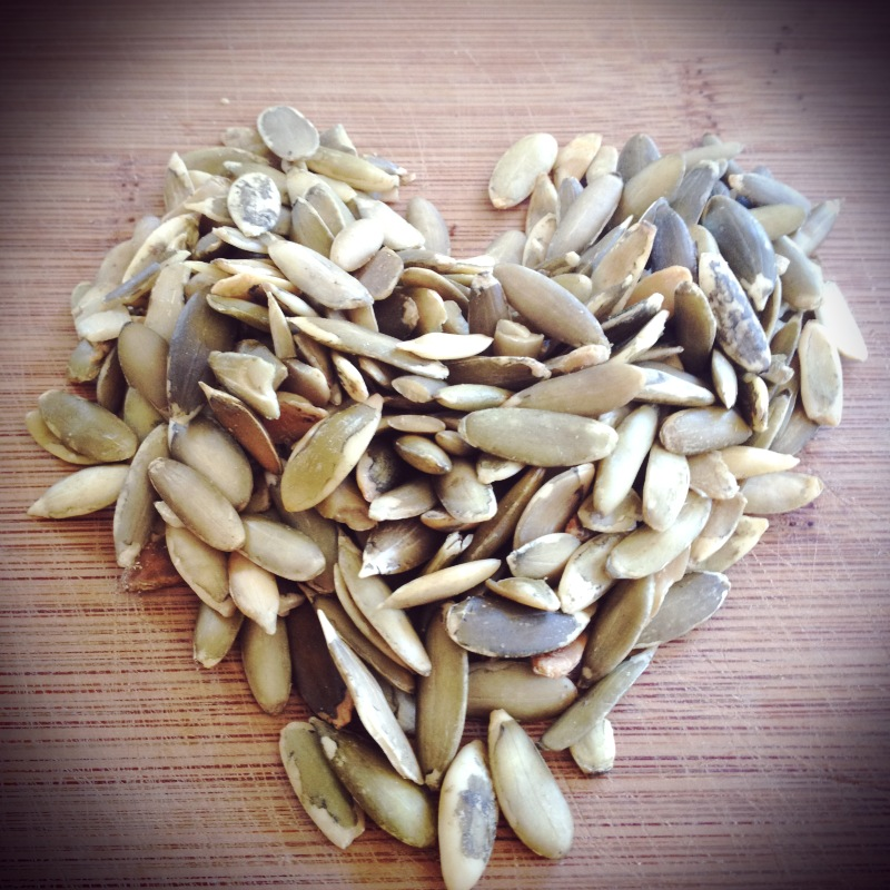 I love pumpkin seeds